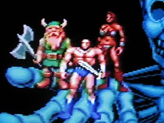 Golden Axe, viewed via RF (no scaler or upscan converter)